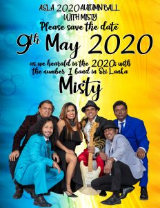 ASLA 2020 Autumn Ball with Misty - 9th May 2020